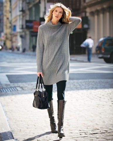 Cowl-neck-sweater-dress-street-style-386x483